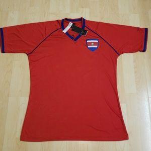 👕NWT👕 - Costa Rica Soccer Jersey Tshirt